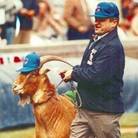 The Cubs curse is goatshit