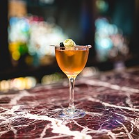 A JW Marriott bartender infuses cognac with corn smut