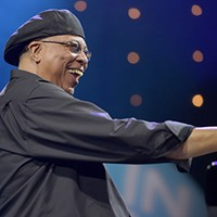 Cuban pianist Chucho Valdes salutes his old group Irakere