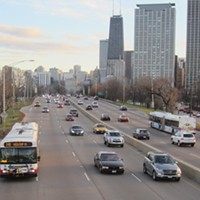 The North Lake Shore Drive rehab should swap mixed-traffic lanes for bus lanes