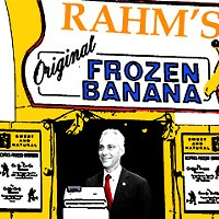 There's always money in the mayor's 'banana stand'