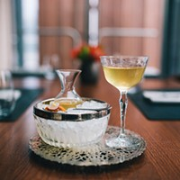 Watch GreenRiver bartender Julia Momose make a cocktail with sea urchin gonads