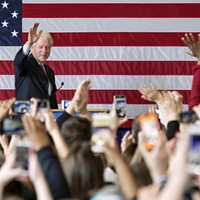 Bill Clinton revs up supporters in Evanston for 'change-maker' Hillary