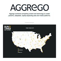 Aggrego is the bed the <i>Chicago Sun-Times</i> and <i>Chicago Tribune</i> are now in together