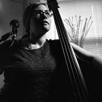 Jazz bassist and vocalist Katie Ernst rises like the tide