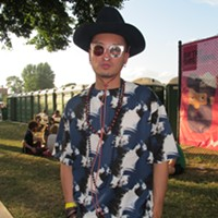 Photos of Pitchfork's most fashionable people on Sunday