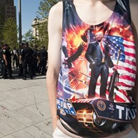 Scenes from the Republican National Convention in Cleveland
