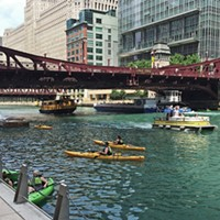 Swimming in the Chicago River might be possible in 15 years, and other news