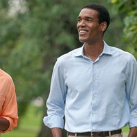 Barack and Michelle Obama's love affair—with each other, and the city—hits the big screen