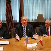 Donald Trump meets with the Polish-American community in surprise visit to Chicago, and other news