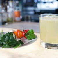 Watch a Sable bartender turn his aunt's mojo sauce into a Puerto Rican cocktail