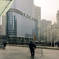 Trump Tower security booted a journalist from the building on inauguration day