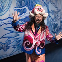Who's the octopus in Takashi Murakami's 'The Octopus Eats Its Own Leg'?