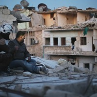 <i>Last Men in Aleppo</i> takes moviegoers into the heart of the Syrian civil war
