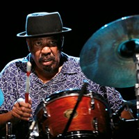 South African drummer Louis Moholo-Moholo fans the spark of resistance into the flame of liberated jazz
