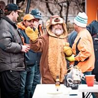 Tailgating with the Grabowskis (and some cheeseheads too)