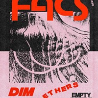 High-contrast abstraction on the gig poster of the week