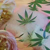 Here's what happened when I took a weed bath