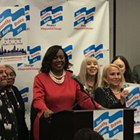 Dorothy Brown will make history as first black woman elected mayor, supporters say