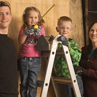 The blog Two Flat: Remade chronicles one family's ten-year struggle to rehab a roach-infested fixer-upper in Logan Square