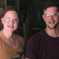 The reclaimers: George Schaefer and Leigh-Anne Riebold of Norman Leigh Design