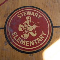 CPS closed Stewart Elementary School in 2013. Now it's a luxury apartment building.