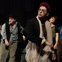 There may be a compelling play about the 1897 concert in the Paris Catacombs, but <i>Les Innocents</i> is not it