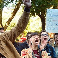 The University of Chicago grad student union demands recognition, even without government certification