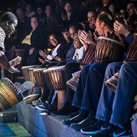 <i>Djembe! The Show</i> works much better as theater for kids than inspiration for adults