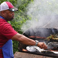 Photos: The grill masters of the Chosen Few Picnic