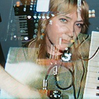 Pharmakon makes noise that vomits and bleeds