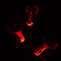 Camille Norment's <i>(red flame)</i> brings the heat