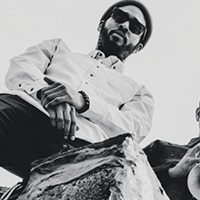 Trumpeter Aquiles Navarro and drummer Tcheser Holmes demonstrate their powerful synchronicity