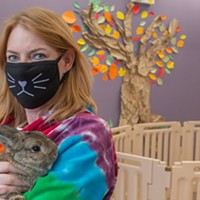 Cuddle Bunny is a furry, feel-good utopia