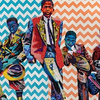 Bisa Butler stitches together portraits of Black American life