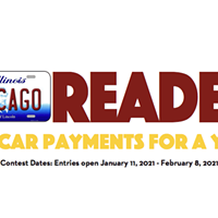 Win car payments for a year!