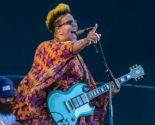 If you think you can mess with Alabama Shakes front woman Brittany Howard, you've been somehow misinformed. - BOBBY TALAMINE