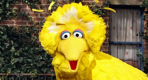 Big Bird joins the network that Tony Soprano built.