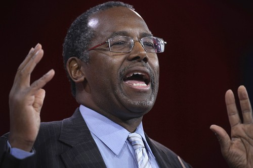 Flip-floppin' Ben Carson - ALEX WONG/GETTY IMAGES