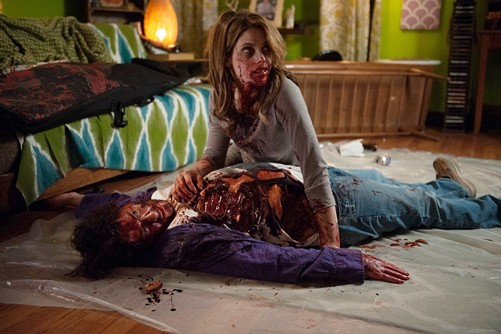 Ashley Greene (above) in Burying the Ex