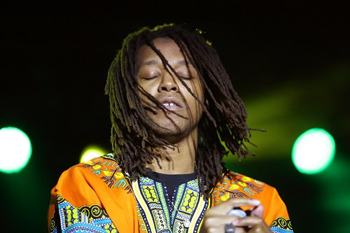 Lupe Fiasco is taking a page out of Dr. Evil's playbook. - ALEX WROBLEWSKI/SUN-TIMES