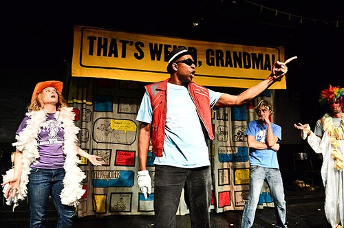 The variety show That's Weird, Grandma has three slots at Fringe Festival. - COURTESY FRINGE FESTIVAL