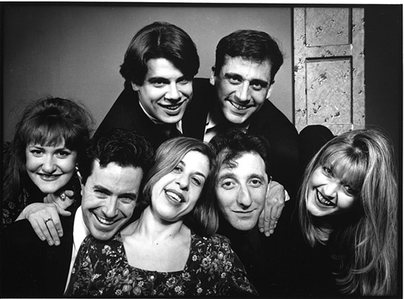 Ruth Rudnick, Colbert, Scott Allman, Jackie Hoffman, Steve Carell, David Razowsky, Fran Adams - COURTESY OF SECOND CITY