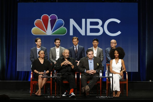 The cast and creators of Chicago Med - COURTESY NBC