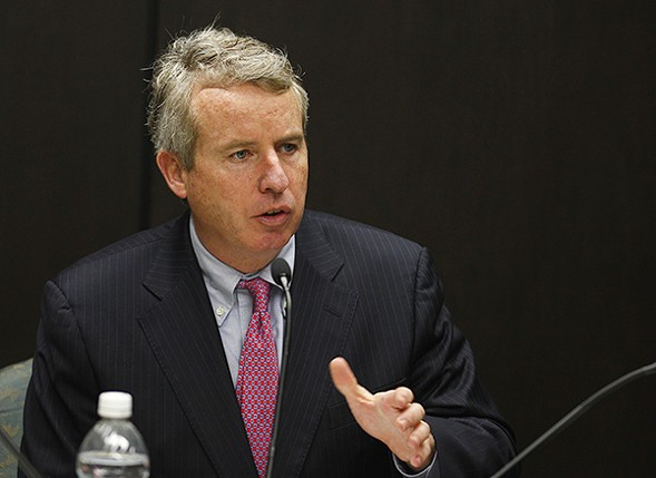 Then-board chair Christopher Kennedy was skeptical about a new medical school, especially one that would encroach on UIC, the central campus of the U. of I. College of Medicine. - AP PHOTOS