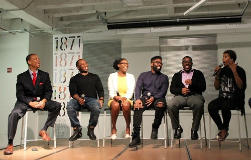 Dave Roberson, Frederick Hutson, Nichelle McCall, Rodney Williams, Jason Caston, and Dawn Dickson, recounting her company's first big disaster - TATIANA WALK-MORRIS