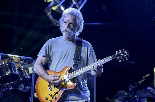 Bob Weir at Soldier Field over the summer - JAY BLAKESBERG