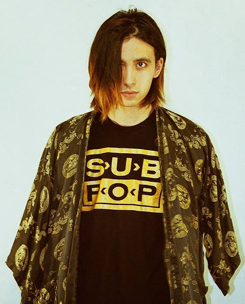 Cullen Omori shows his label a little love. - ALEXA LOPEZ