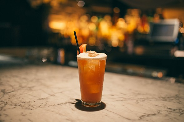 Sauerkraut shandy by Chris Kyles of STK Chicago - CORY POPP