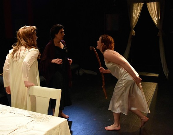 Federico García Lorca's The House of Bernarda Alba gets a new adaptation from Redtwist Theatre. - KATIE O'SHEA